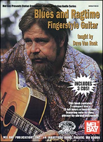 Blues and Ragtime Fingerstyle Guitar Blues Guitar Workshop