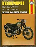 HAYNES 1969-1975 TRIUMPH TRIDENT & BSA ROCKET 3 OWNERS SERVICE MANUAL (136)