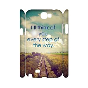case Of Artistic Customized Hard Case For Samsung Galaxy Note 2 N7100