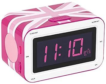 BigBen Interactive RR30 GB Girly Radio Radio-réveil  Amazon.fr ... 5619876568d4