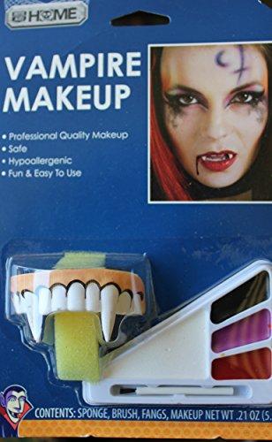 Dracula vampire Painting fangs included