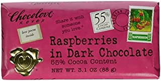 product image for Chocolove XOXO Raspberries in Dark Chocolate Bar (4-Pack)