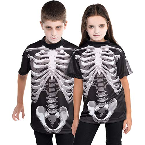 Kids Skeleton Shirt - Suit Yourself Black and Bone Skeleton
