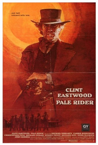 Pale Rider Poster Movie 1985 Style B