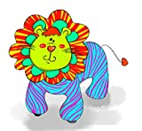 Motorized Plush Magical Lion Ride On Toy - Coin or Token Operated Electric Animal Scooter