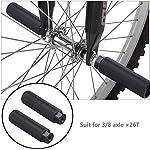 gotyou-2-Pezzi-Pedale-BMX-in-Lega-di-Alluminio-Pedane-Bici-Pedale-Pedane-Cilindriche-Picchetti-Bike-per-BMX-Bicicletta-Mountain-Bike-Adatto-per-Filettatura-dellalbero-della-Bicicletta-da-9-mm