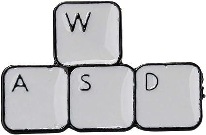 CAVIVI Broche de teclado para juegos, divertido bloque de ...