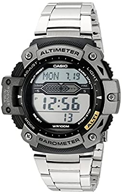 Casio Men's SGW300HD-1AVCF Twin Sensor Multi-Function Digital Stainless Steel Sport Watch