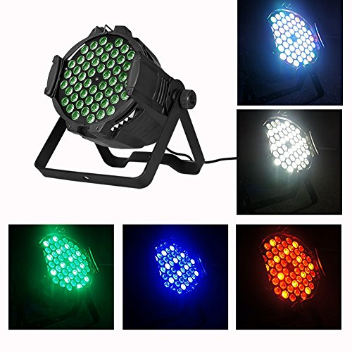 Boulder LED par can 54x3w RGBW LED Par Light,162watt RGBW PAR 64 DMX512 Stage Party Show, For Disco, Ballroom, KTV, Bar,Club, Party, Wedding