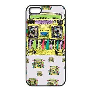 iPhone 4 4s Cell Phone Case Black RAP CAT L9H1SK