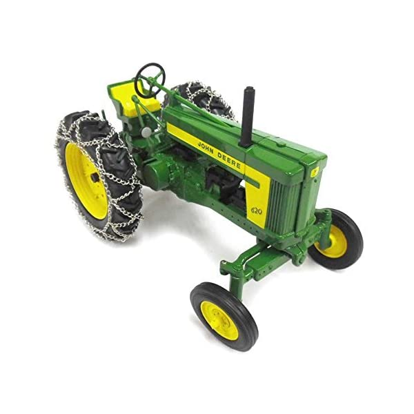TOMY 1/16th Prestige Series John Deere 620 with Chains 45544 3