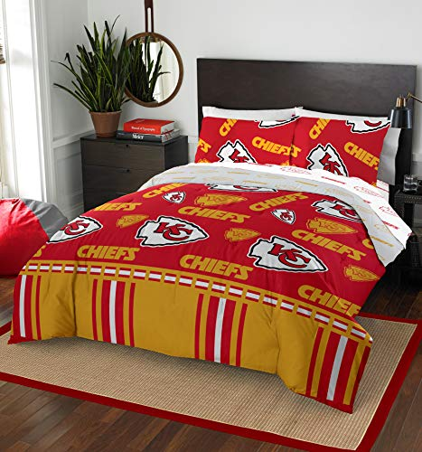 - NFL Kansas City Chiefs Full Bed in a Bag Complete Bedding Set #27942545