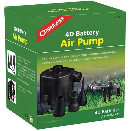 4D Battery -Operated Air Pump by Coghlan's