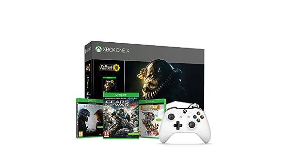 Xbox One X - Consola 1 TB, Color Blanco + Fallout + Microsoft ...