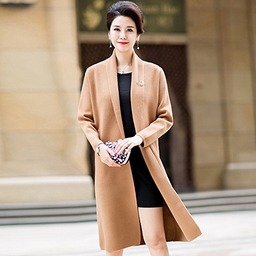 Winter Fall Of Spring 2 Of Long Aged Coat And Camel Xuanku Section The On Ground Middle Out Ladies Sweater The The Shirt xFvEZdwE