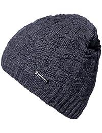 55c0d82e476 Mens Winter Warm Knitting Hats Wool Baggy Slouchy Beanie Hat Skull Cap