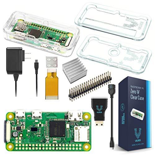 Vilros Raspberry Pi Zero W Basic Starter Kit- Clear Case Edition-Includes Pi Zero W -Power Supply & Premium Clear Case by Vilros (Image #9)