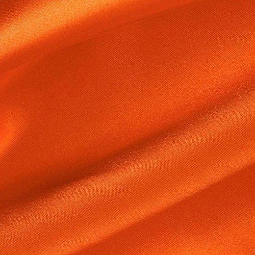 Orange Satin Fabric 60