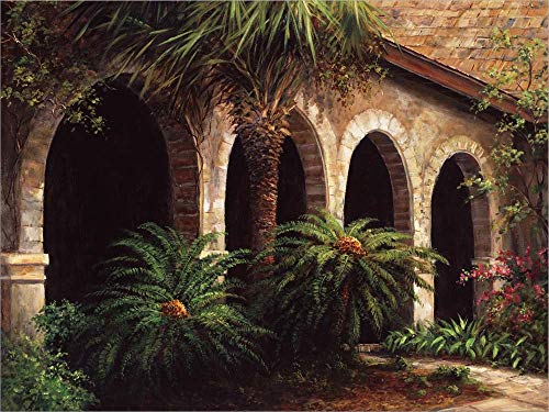 (Sago Arches by Art Fronckowiak Laminated Art Print, 37 x 28 inches)