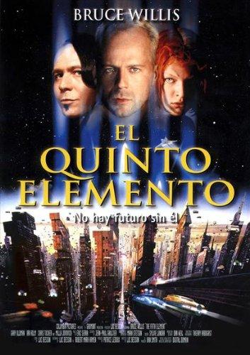 Amazon.com: El Quinto Elemento Cartel español 27 x 40 Bruce ...