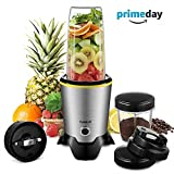 CHULUX Personal Blender and Coffee Grinder 2-in-1, High Speed Professional...