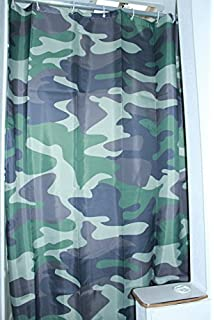 Solid Elements RV Shower Curtain Accessories Gear For Camper Trailer Camping Bathroom Shorter And Narrow