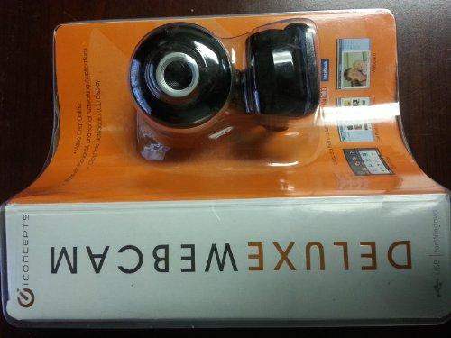 Delux Webcamera with Noise Cancelling Microphone