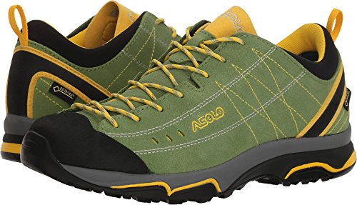 Asolo NUCLEON GV Hiking Shoe - Womens, English Ivy/Yellow, 10, A40013 A40013-English Ivy/Yellow-10