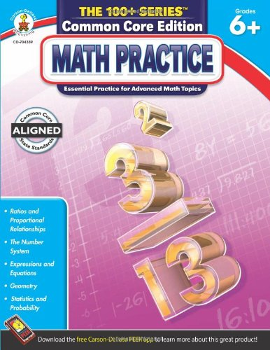 Math Practice, Grades 6 - 8 (The 100+ Series™)