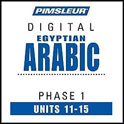 Arabic (Egy) Phase 1, Unit 11-15