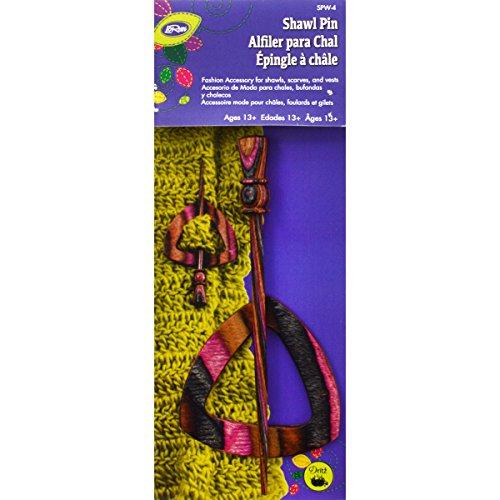Dritz Wood Shawl Pin Electra product image