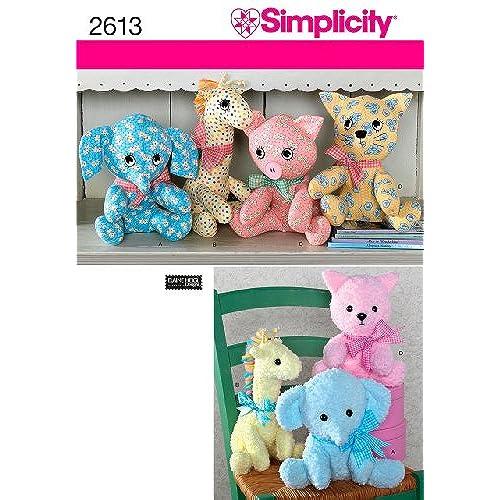 Stuffed Animal Sewing Patterns: Amazon.com
