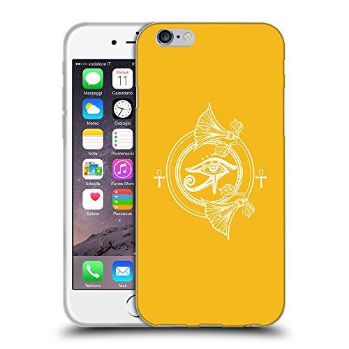 "GoGoMobile Coque de Protection TPU Silicone Case pour // Q09860602 Religion 26 ambre // Apple iPhone 6 4.7"""