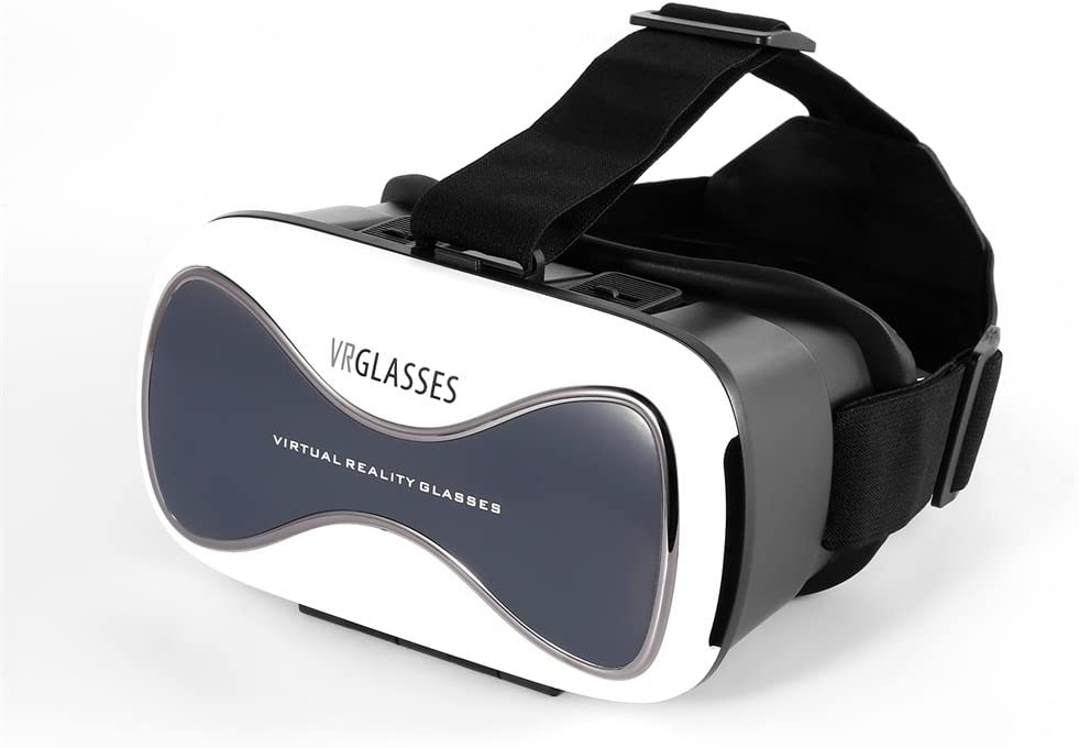 LESHP Gafas VR 3D Realidad Virtual para Smartphone, color blanco ...