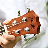 Mugig Ukulele Retro Spruce Panel Top Rosewood Fretboard 4 Strings Stringed Instrument for Entry level (23\'\')