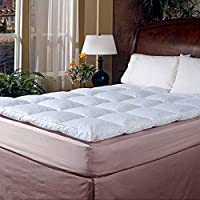 Blue Ridge Home Fashion Classic 233 Thread Count Cotton Featherbed, King