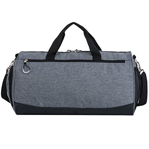 Sports Gym Bag with Shoes Compartment Travel Duffel Bag for Men and Women by Kuston (Image #3)