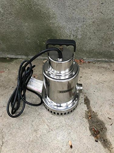 Everbilt 1/2 HP Waterfall Utility Pump SSB300 - New Open Box ()