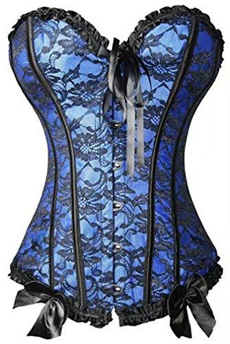 YuanYan - Corsé - para mujer Azul