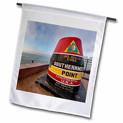 Danita Delimont – Chuck Haney – Bouys – Buoy marks the southern most point in the US at Key West, Florida, USA – 18 x 27 inch Garden Flag (fl_189997_2) Review