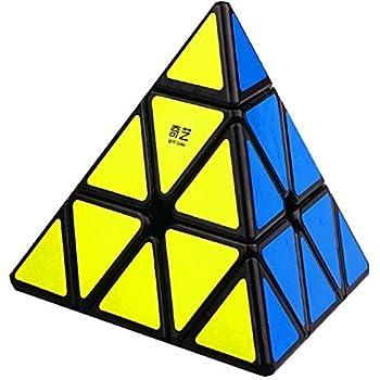 Amazoncom Cuberspeed Qiyi Qiming Pyramid Black Magic Cube Mofangge