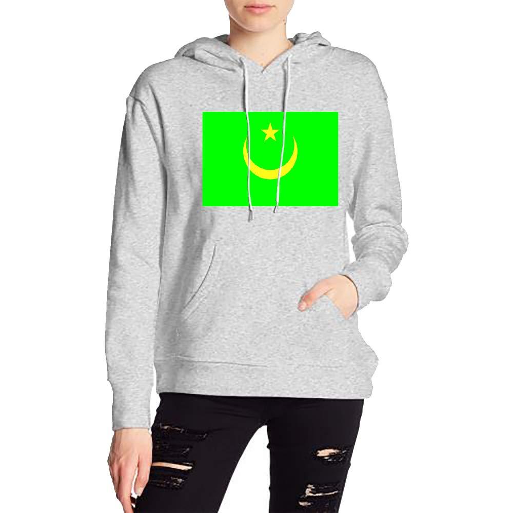 JiJingHeWang Womans Mauritania Sweater Sports Drawstring Hooded