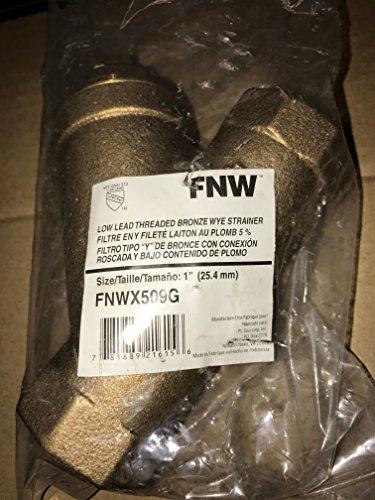 FNW FNWX509G NPT Wye Strainer, 1