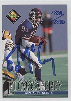 Ed McCaffrey #1208/2,030 (Football Card) 1994 Classic Pro Line Live - Autographs #EDMC