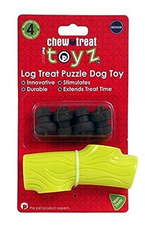 toyz Petface Juguete para Perro, dispensador de Troncos Cuatro golosinas, tamaño Mediano: Amazon.es: Productos para mascotas