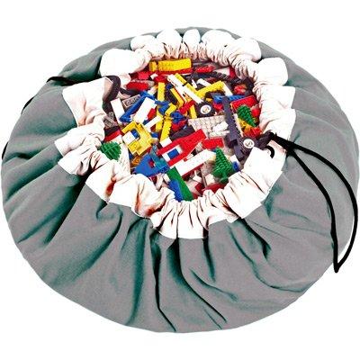 Play & Go Spielzeugsack und Spieldecke grau
