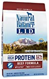 Natural Balance Limited Ingredient Diets High Protein Dry Dog Food, Beef Formula, Grain Free, 24-Pound For Sale