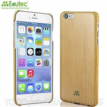 newest 92e6d 44673 Evutec Wood S Series Sleek Impact Protection Snap Case For The iPhone 6+  Plus in Bamboo