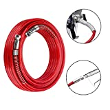 FUNTECK 15M x 1/4 in. Airless Paint Sprayer Hose