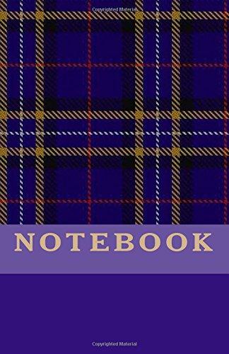 Read Online NOTEBOOK - Purple Tartan ebook